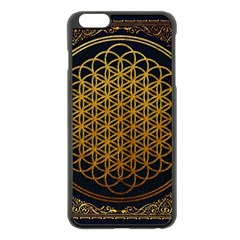 Tree Of Live Pattern Apple Iphone 6 Plus/6s Plus Black Enamel Case by Samandel