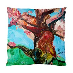 Big Coral Tree Standard Cushion Case (one Side) by bestdesignintheworld