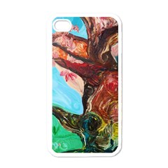 Big Coral Tree Apple Iphone 4 Case (white) by bestdesignintheworld