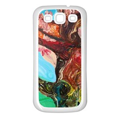 Big Coral Tree Samsung Galaxy S3 Back Case (white) by bestdesignintheworld