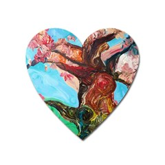 Big Coral Tree Heart Magnet by bestdesignintheworld