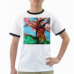 Big Coral Tree Ringer T-shirts by bestdesignintheworld