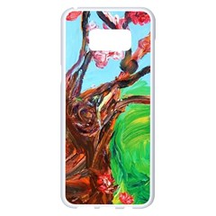 Coral Tree Blooming Samsung Galaxy S8 Plus White Seamless Case by bestdesignintheworld