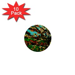 Coral Tree 1 1  Mini Buttons (10 Pack)  by bestdesignintheworld