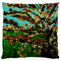 Coral Tree 1 Large Flano Cushion Case (two Sides) by bestdesignintheworld