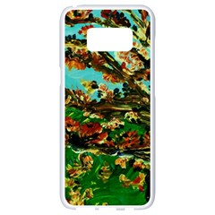Coral Tree 1 Samsung Galaxy S8 White Seamless Case by bestdesignintheworld