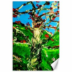 Coral Tree 2 Canvas 24  X 36  by bestdesignintheworld