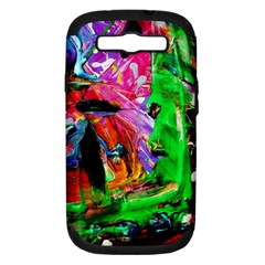 Triplets 1 Samsung Galaxy S Iii Hardshell Case (pc+silicone) by bestdesignintheworld