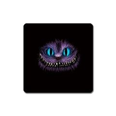 Cheshire Cat Animation Square Magnet