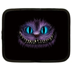 Cheshire Cat Animation Netbook Case (xl)  by Samandel