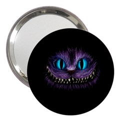 Cheshire Cat Animation 3  Handbag Mirrors