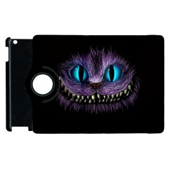 Cheshire Cat Animation Apple Ipad 3/4 Flip 360 Case