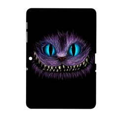 Cheshire Cat Animation Samsung Galaxy Tab 2 (10 1 ) P5100 Hardshell Case  by Samandel