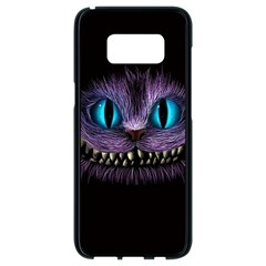 Cheshire Cat Animation Samsung Galaxy S8 Black Seamless Case