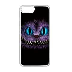 Cheshire Cat Animation Apple Iphone 8 Plus Seamless Case (white)