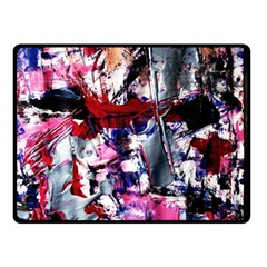 Combat Trans 3 Double Sided Fleece Blanket (small)  by bestdesignintheworld