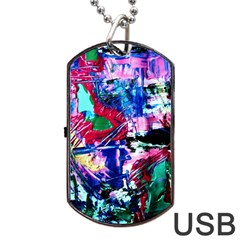 Combat Trans 6 Dog Tag Usb Flash (two Sides) by bestdesignintheworld