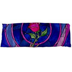 Enchanted Rose Stained Glass Body Pillow Case Dakimakura (two Sides) by Samandel