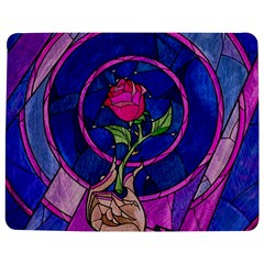 Enchanted Rose Stained Glass Jigsaw Puzzle Photo Stand (rectangular) by Samandel