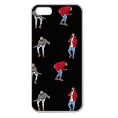 Drake Ugly Holiday Christmas Apple Seamless Iphone 5 Case (clear) by Samandel