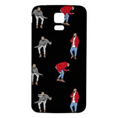 Drake Ugly Holiday Christmas Samsung Galaxy S5 Back Case (white)