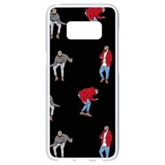 Drake Ugly Holiday Christmas Samsung Galaxy S8 White Seamless Case