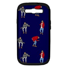 Drake Ugly Holiday Christmas Samsung Galaxy S Iii Hardshell Case (pc+silicone)