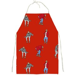 Drake Ugly Holiday Christmas Full Print Aprons by Samandel