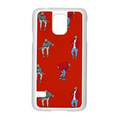 Drake Ugly Holiday Christmas Samsung Galaxy S5 Case (white) by Samandel