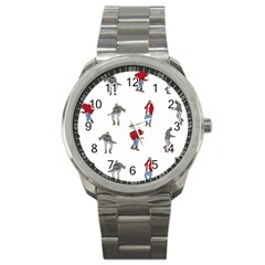 Drake Ugly Holiday Christmas Sport Metal Watch by Samandel