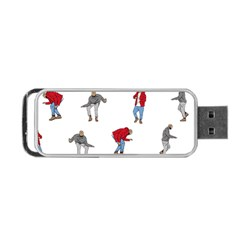 Drake Ugly Holiday Christmas Portable Usb Flash (two Sides) by Samandel