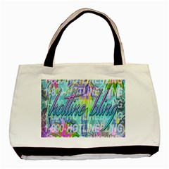 Drake 1 800 Hotline Bling Basic Tote Bag by Samandel