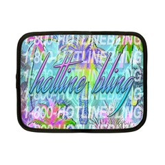 Drake 1 800 Hotline Bling Netbook Case (small)  by Samandel