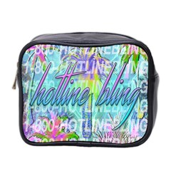 Drake 1 800 Hotline Bling Mini Toiletries Bag 2 Side by Samandel