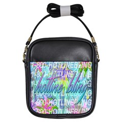 Drake 1 800 Hotline Bling Girls Sling Bags by Samandel