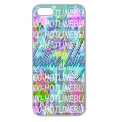 Drake 1 800 Hotline Bling Apple Seamless Iphone 5 Case (clear) by Samandel