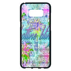 Drake 1 800 Hotline Bling Samsung Galaxy S8 Plus Black Seamless Case by Samandel