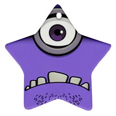 Evil Purple Ornament (star)