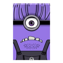 Evil Purple Shower Curtain 48  X 72  (small)  by Samandel