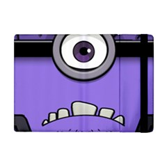 Evil Purple Apple Ipad Mini Flip Case by Samandel