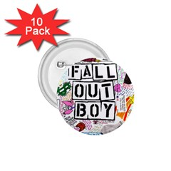 Fall Out Boy Lyric Art 1 75  Buttons (10 Pack) by Samandel