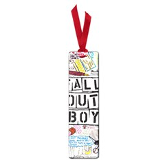 Fall Out Boy Lyric Art Small Book Marks by Samandel