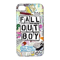 Fall Out Boy Lyric Art Apple Iphone 4/4s Hardshell Case With Stand by Samandel
