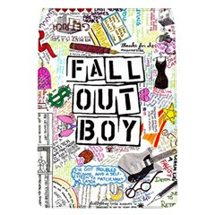 Fall Out Boy Lyric Art Flap Covers (l)  by Samandel