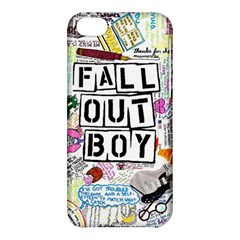 Fall Out Boy Lyric Art Apple Iphone 5c Hardshell Case by Samandel