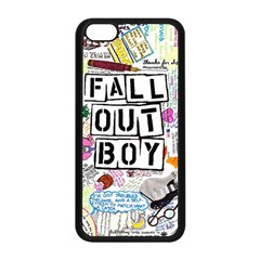 Fall Out Boy Lyric Art Apple Iphone 5c Seamless Case (black) by Samandel