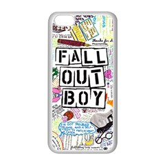 Fall Out Boy Lyric Art Apple Iphone 5c Seamless Case (white) by Samandel