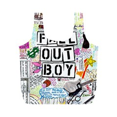 Fall Out Boy Lyric Art Full Print Recycle Bags (m)  by Samandel