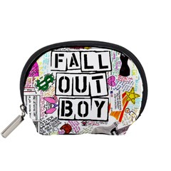 Fall Out Boy Lyric Art Accessory Pouches (small)  by Samandel