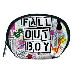 Fall Out Boy Lyric Art Accessory Pouches (medium)  by Samandel